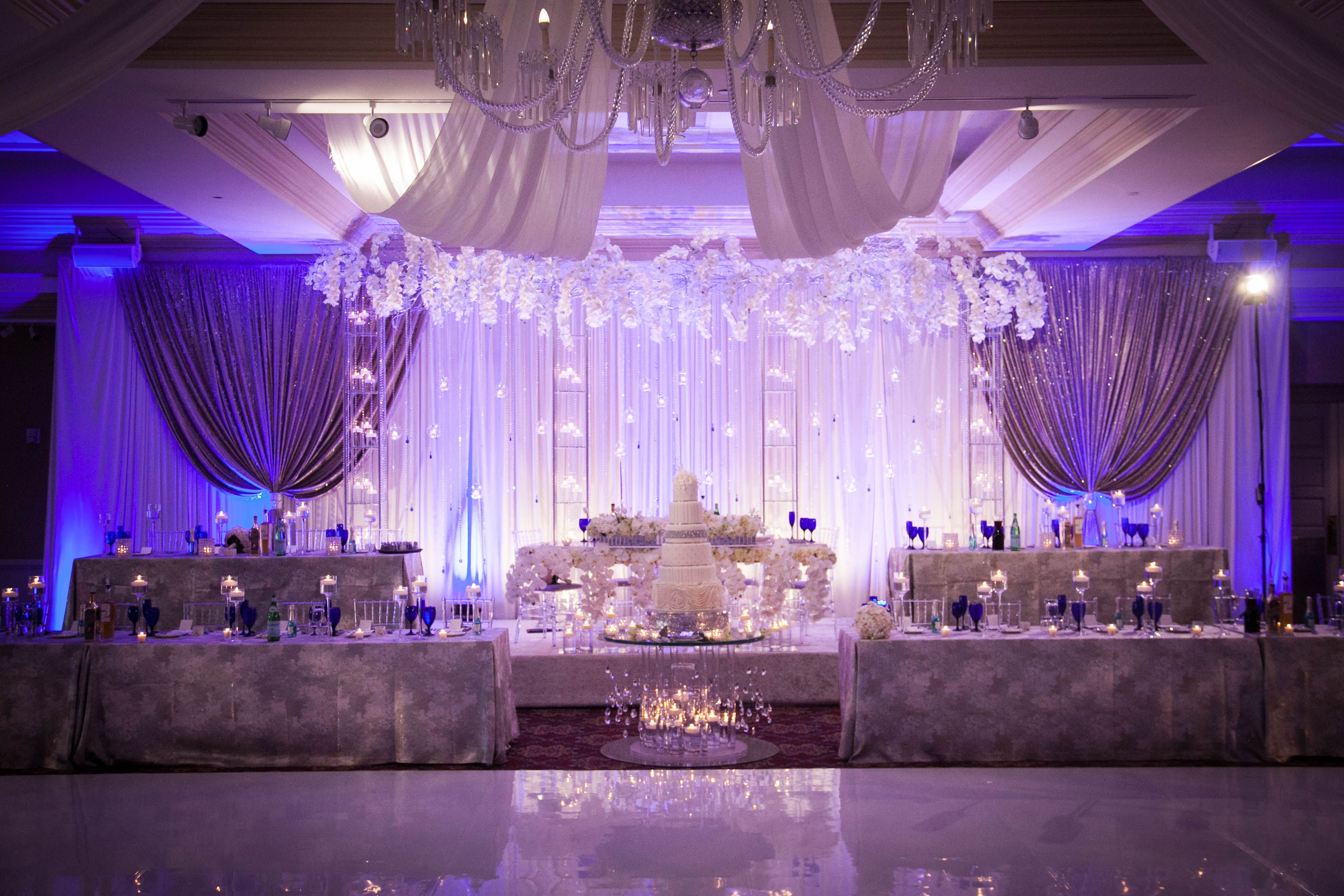 Party Stage and Wedding Lighting for Rent